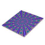 Fractalscope 37 azulejo ceramica