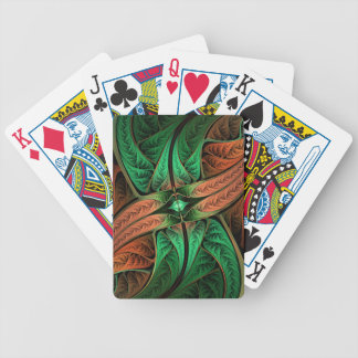 Fractalus Reptilus - Bicycle playing cards