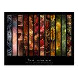 Fractalworld Artist Card Postcard