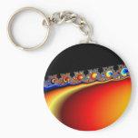 Fractasian Rings - Fractal Keychain