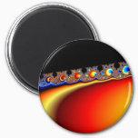 Fractasian Rings - Fractal Magnet