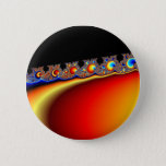 Fractasian Rings - Fractal Pinback Button