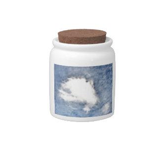 Fractilus Cloud Candy Dish