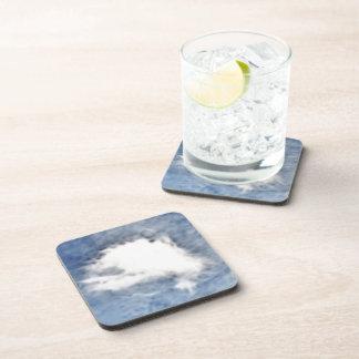 Fractilus Cloud Drink Coasters