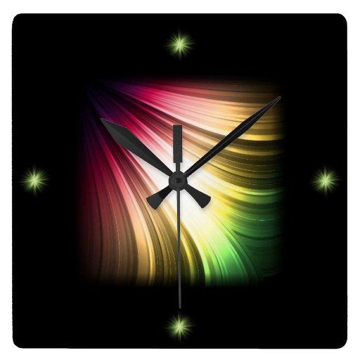 Fractional Light Wall Clock