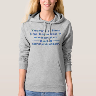 Fractions Math Hoodie