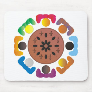 Fractions Mouse Pad