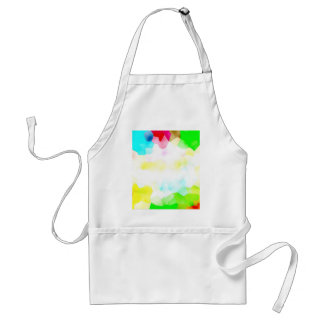 Fractions of Light and Color Adult Apron