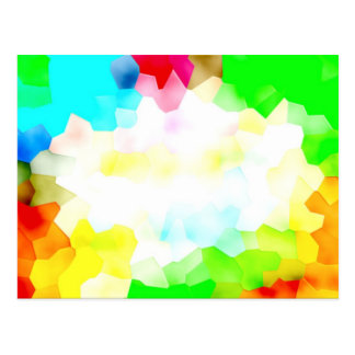 Fractions of Light and Color Postcard