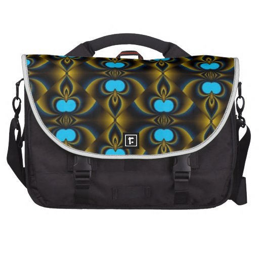 Fractual Background Bags For Laptop