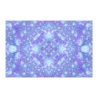 """Fractual Frieze"" Mandala Artwork Gallery Wrapped Canvas"