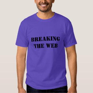 Fractura de la camisa básica del Web
