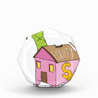 Fractura de la hucha de la equidad casera