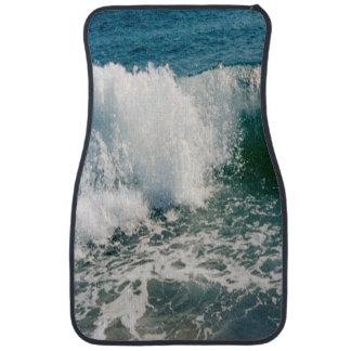 Fractura de la ola oceánica alfombrilla de auto