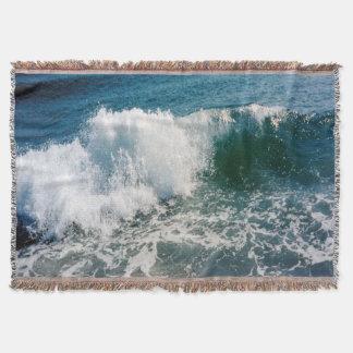Fractura de la ola oceánica manta