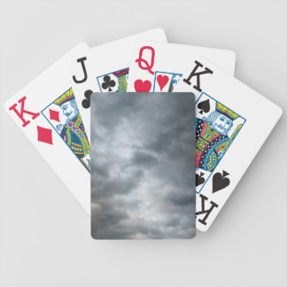 Fractura de las nubes de tormenta baraja
