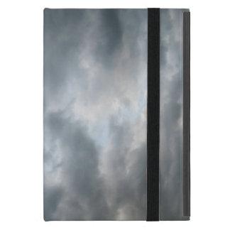 Fractura de las nubes de tormenta iPad mini carcasas