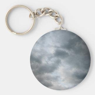 Fractura de las nubes de tormenta llavero