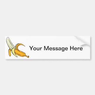 Fractura de plátano pegatina para auto
