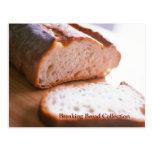 Fractura de receta cocida pan del mac y del queso postal