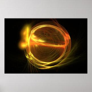 fractura del átomo impresiones