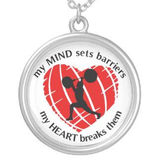 Fractura del collar del levantamiento de pesas de