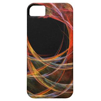 Fractura del iPhone 5 del arte abstracto del Funda Para iPhone 5 Barely There