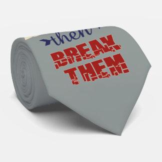 Fractura del lazo de las reglas corbata personalizada