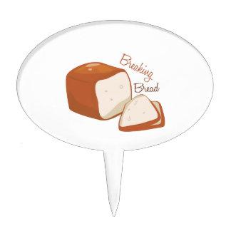 Fractura del pan figura de tarta
