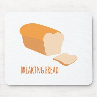 Fractura del pan alfombrilla de ratón