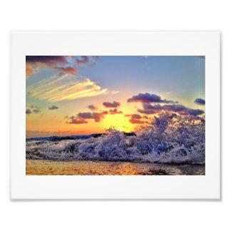 Fractura en la arena fotografías