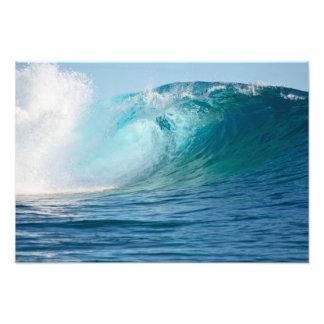 Fractura grande de la onda del Océano Pacífico Cojinete