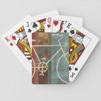 Fractura lejos cartas de póquer
