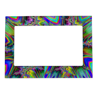 Fractural Psychedelic Magnetic Photo Frame