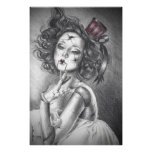 Fractured Beauty Poster Broken Doll Poster