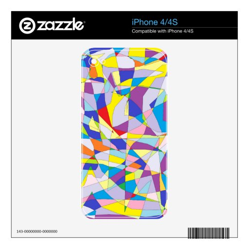 Fractured Facade Skin For iPhone 4S