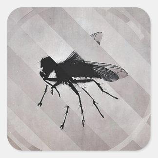 Fractured Fly Sticker