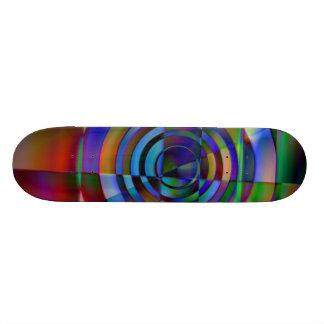 Fractured Glass Skateboard Deck