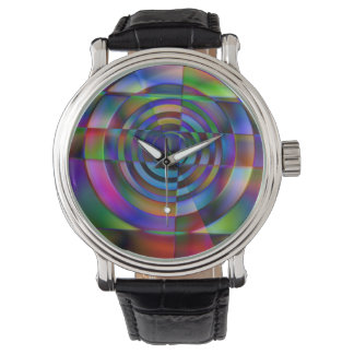 Fractured Glass Wrist Watches