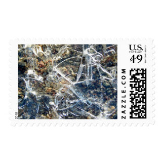 Fractured Ice Postage