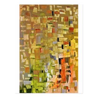 Fractured Mosaic Postcard
