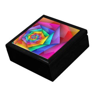 Fractured Rainbow Gift Box