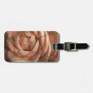 Fractured Rose Travel Bag Tags