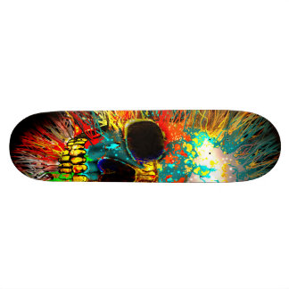 Fractured Skate Board