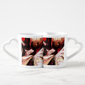 Fractured Soul Abstract Couples Mug