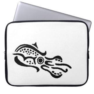 Fractured Squid design Laptop Computer Sleeves