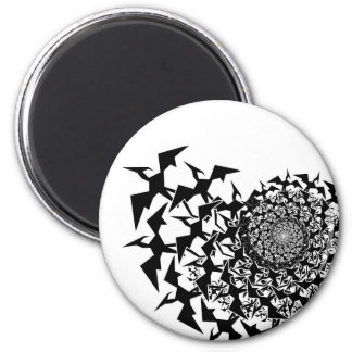 Fractyl Pterodactyl 2 Inch Round Magnet