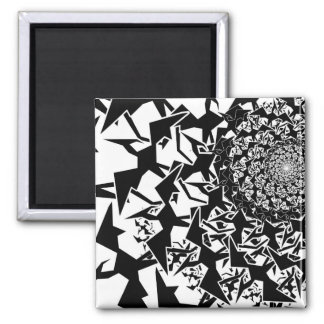 Fractyl Pterodactyl 2 Inch Square Magnet