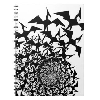 Fractyl Pterodactyl Spiral Note Books