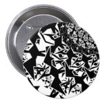 Fractyl Pterodactyl Pinback Buttons